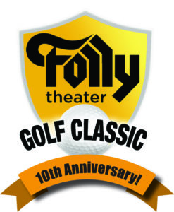 Golf Logo with 10th anniversary