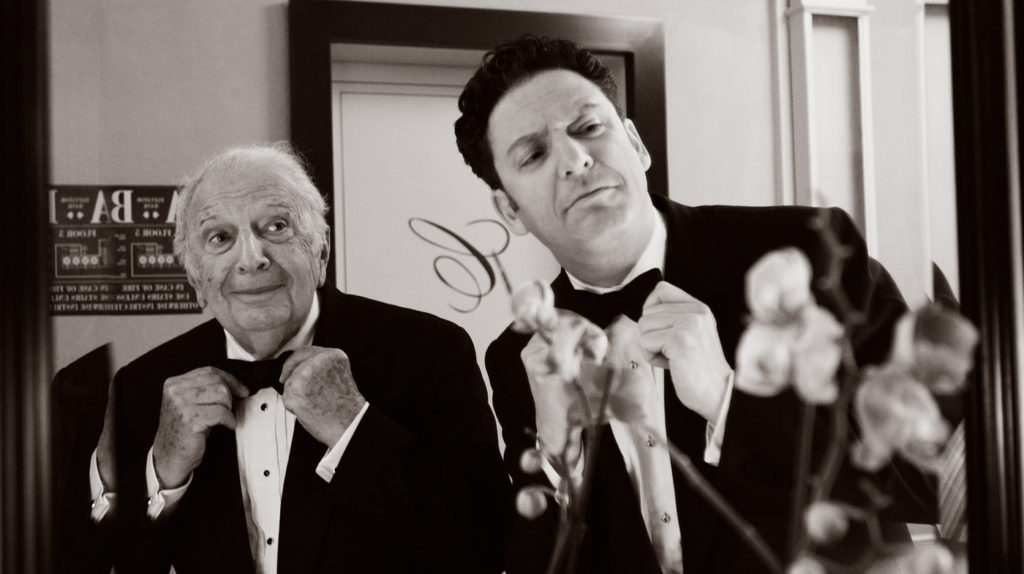 Father and son Bucky and John Pizzarelli